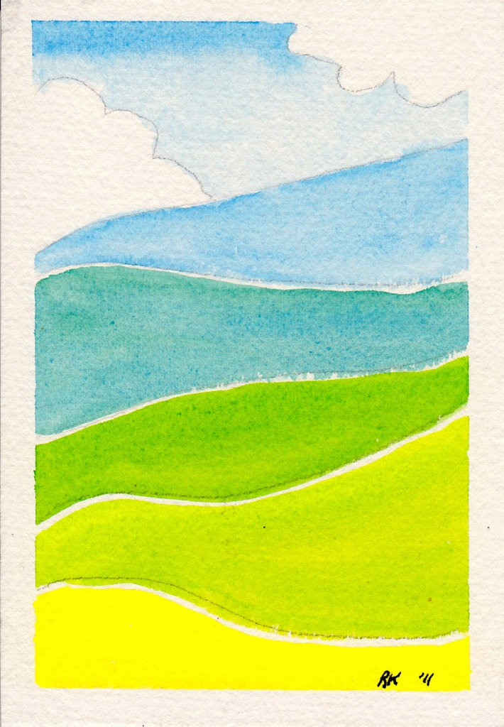 Watercolour Paintings 2011 By Rosie Kerr Byron Bay ...