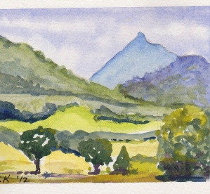 Mount Warning Study #1