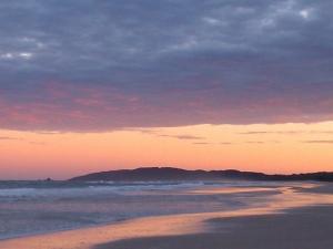 Photo Sunrise Tallows Beach Byron Bay